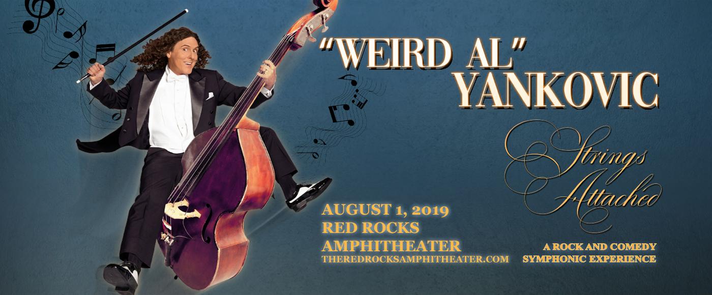 Weird Al Yankovic at Red Rocks Amphitheater