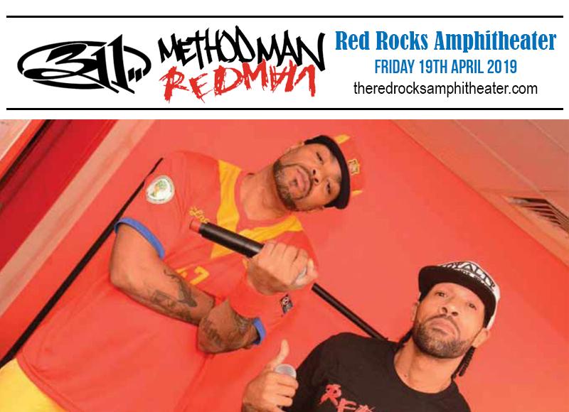 311, Method Man & Redman at Red Rocks Amphitheater