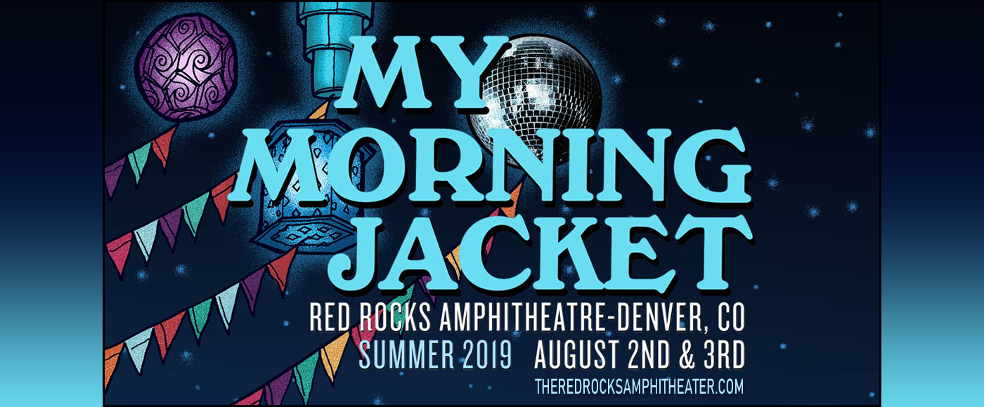 My Morning Jacket at Red Rocks Amphitheater