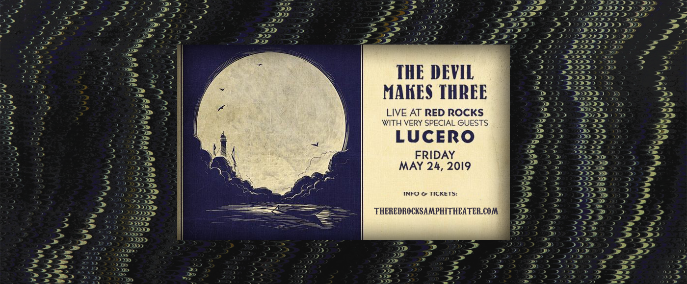 The Devil Makes Three & Lucero at Red Rocks Amphitheater