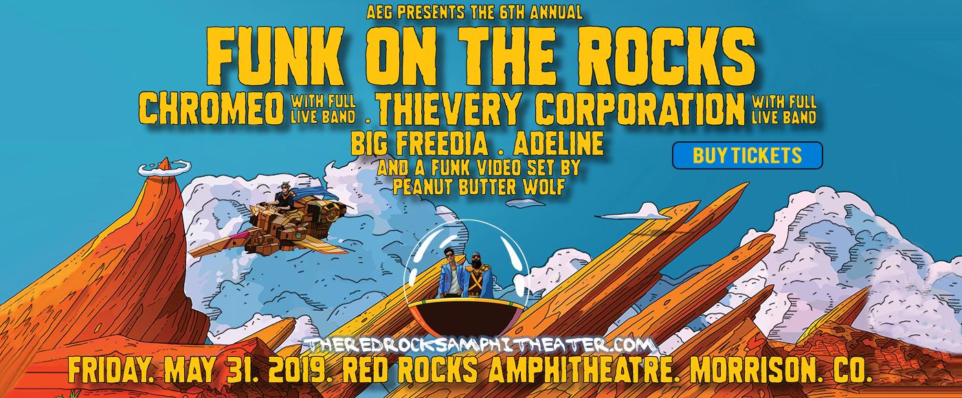 Chromeo & Thievery Corporation at Red Rocks Amphitheater