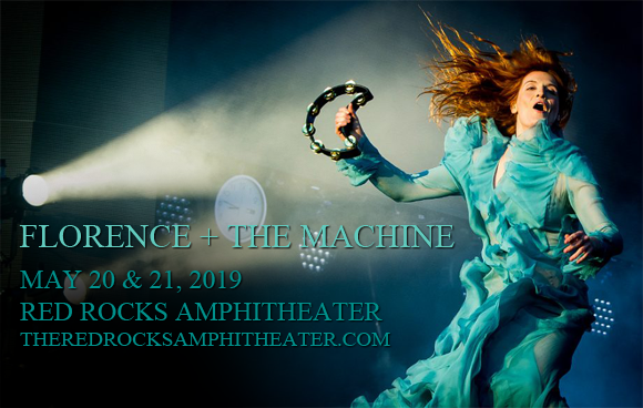 Florence and The Machine at Red Rocks Amphitheater