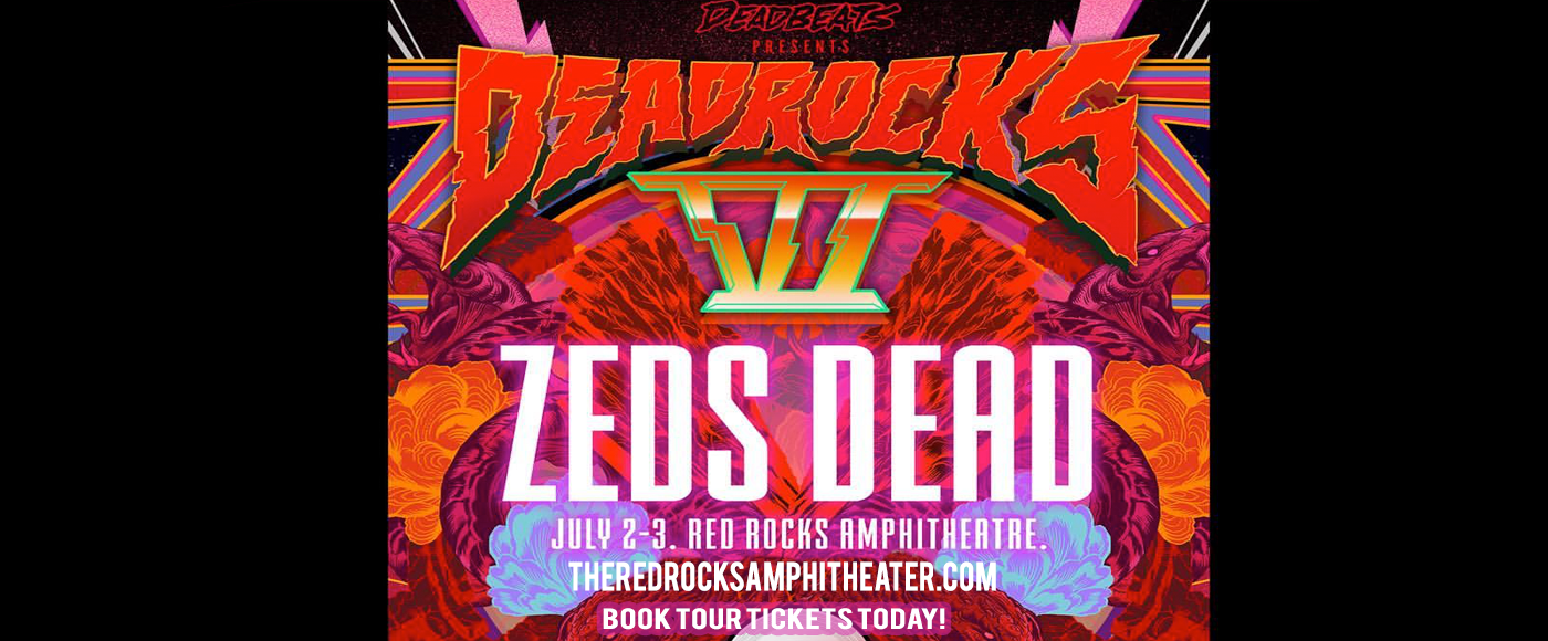 Zeds Dead at Red Rocks Amphitheater