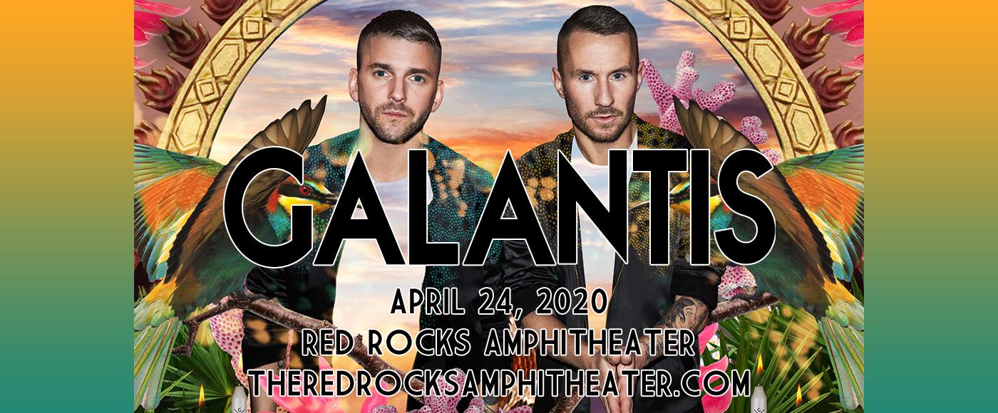 Galantis at Red Rocks Amphitheater