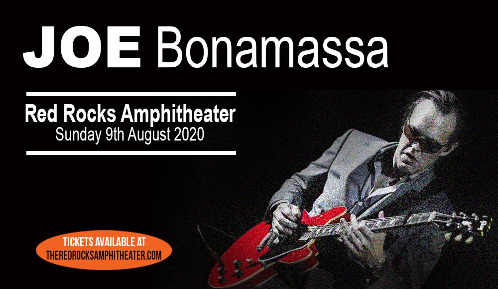Joe Bonamassa at Red Rocks Amphitheater