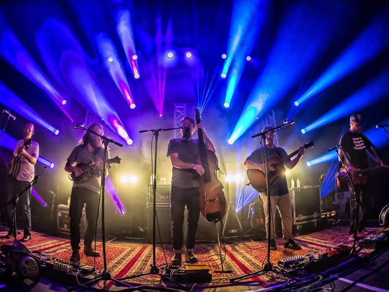 Greensky Bluegrass with Circles Around The Sun at Red Rocks Amphitheater
