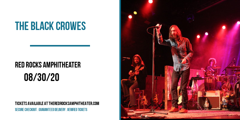 The Black Crowes at Red Rocks Amphitheater