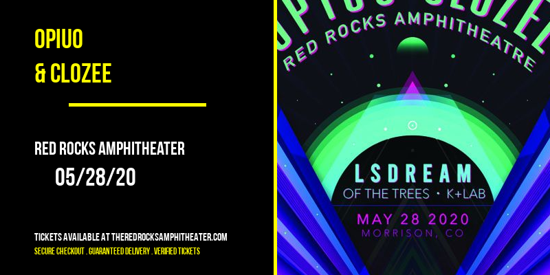 Opiuo & CloZee at Red Rocks Amphitheater
