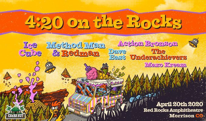 Ice Cube, Method Man, Redman & Action Bronson [CANCELLED] at Red Rocks Amphitheater