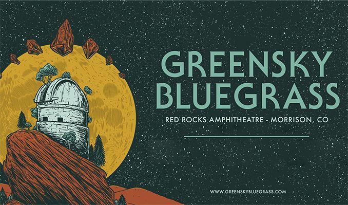 Greensky Bluegrass - 3 Day Pass at Red Rocks Amphitheater