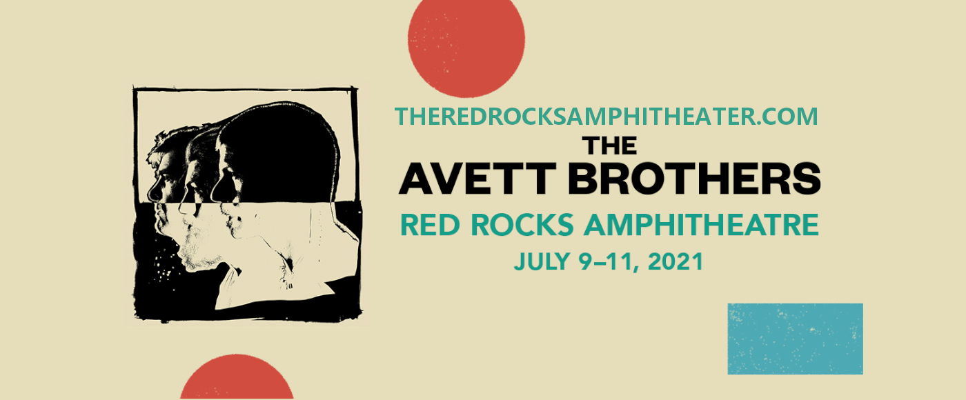 The Avett Brothers (Time: TBD) at Red Rocks Amphitheater