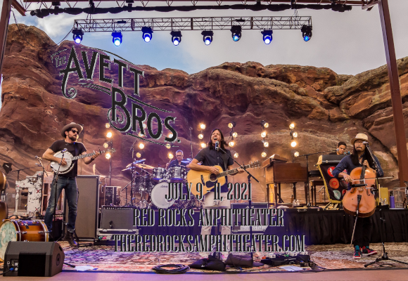 The Avett Brothers - 3 Day Pass at Red Rocks Amphitheater