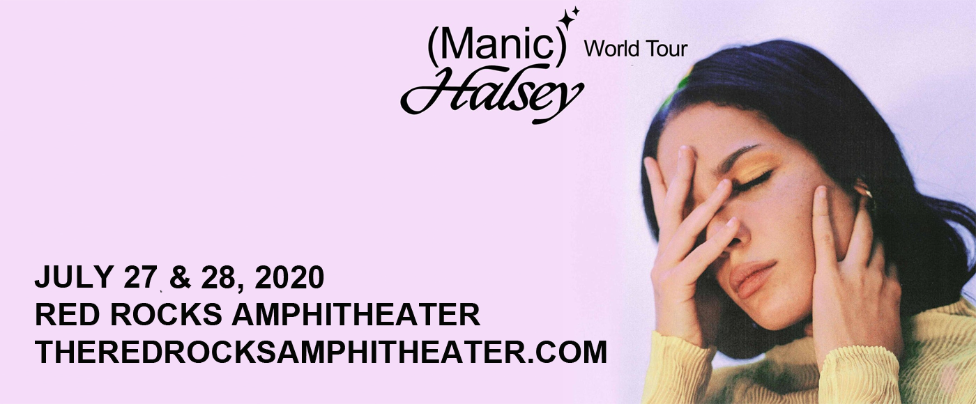 Halsey [CANCELLED] at Red Rocks Amphitheater