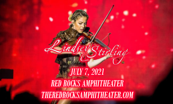 Lindsey Stirling at Red Rocks Amphitheater