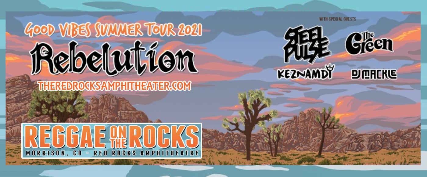 Reggae On The Rocks: Rebelution at Red Rocks Amphitheater