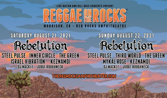 Reggae On The Rocks at Red Rocks Amphitheater