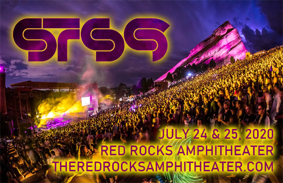 STS9 - Sound Tribe Sector 9 - 2 Day Pass at Red Rocks Amphitheater