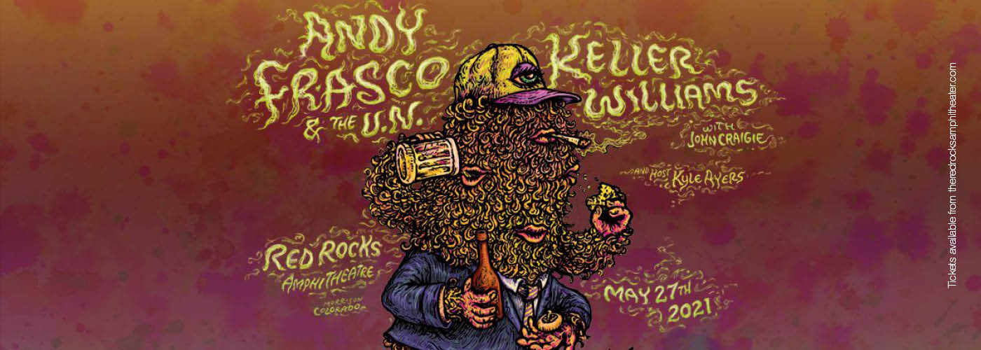 Andy Frasco and The U.N. & Keller Williams at Red Rocks Amphitheater