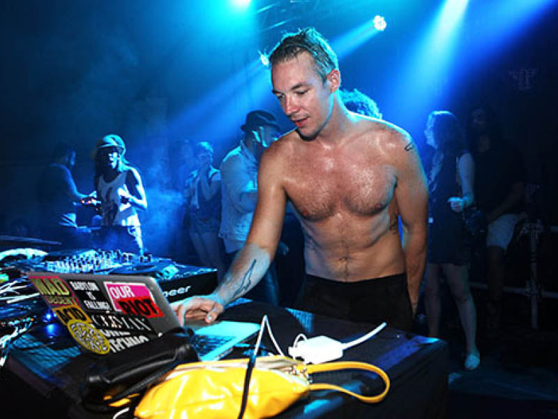 Diplo with Sidepiece at Red Rocks Amphitheater