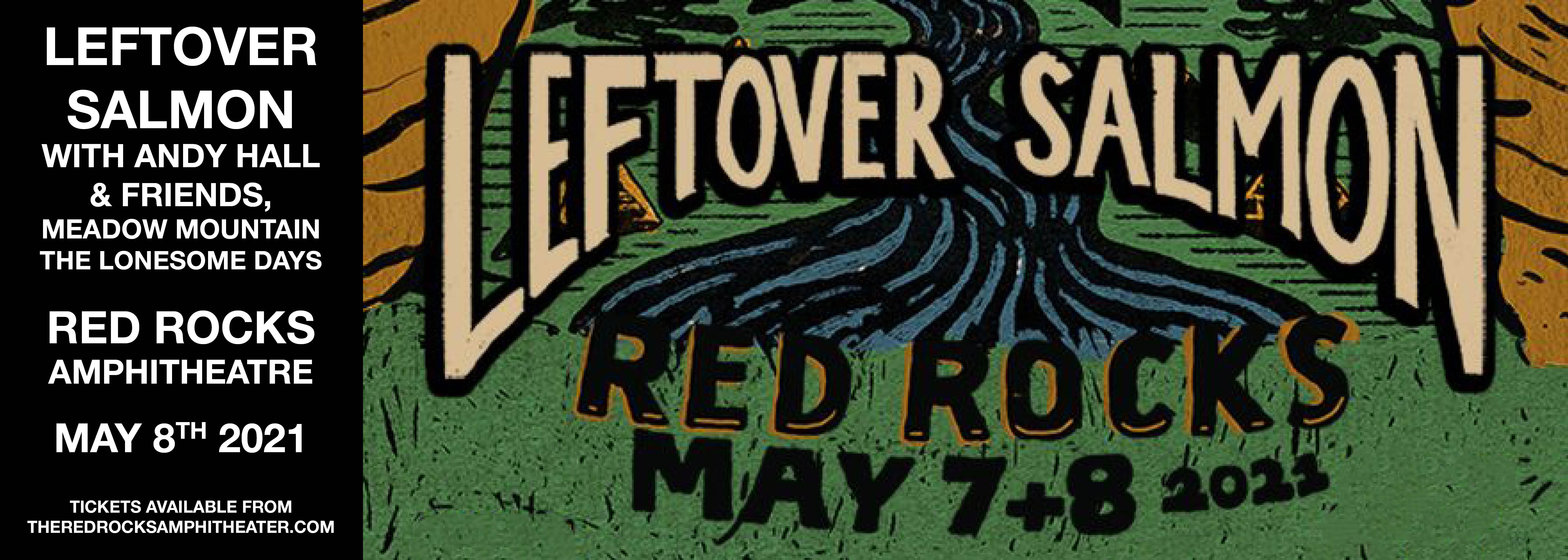 Leftover Salmon at Red Rocks Amphitheater