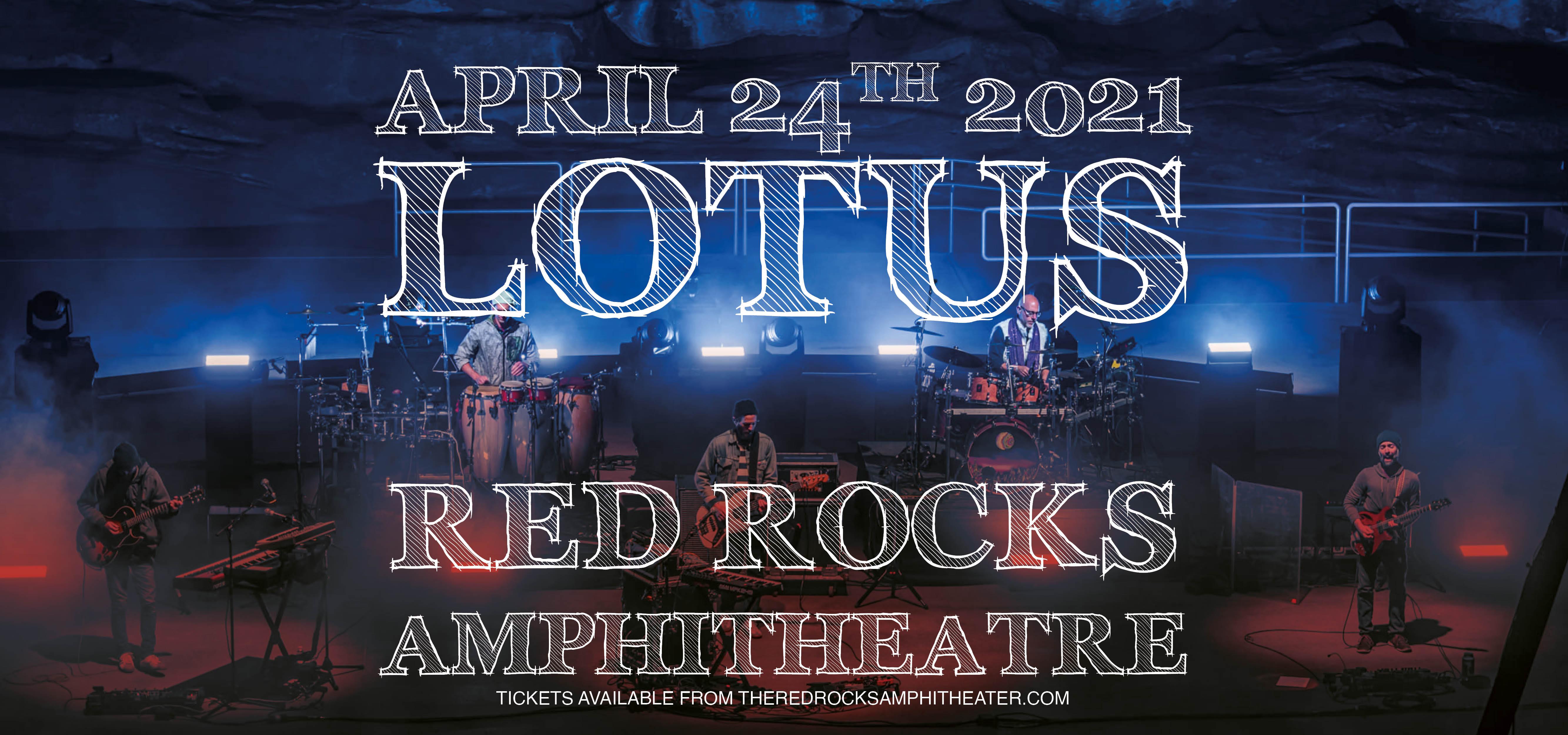 Lotus at Red Rocks Amphitheater