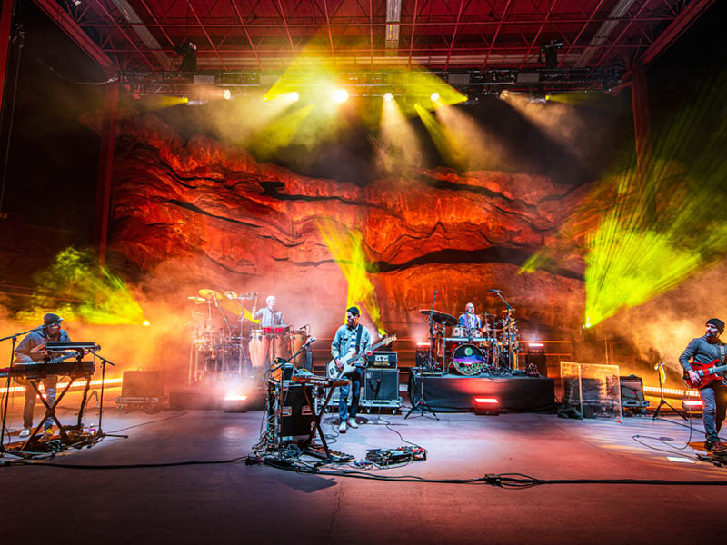Lotus at Red Rocks Amphitheater