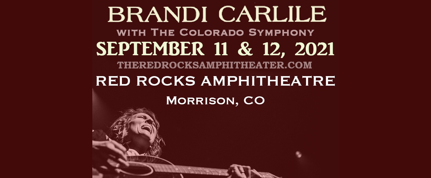Brandi Carlile & The Colorado Symphony at Red Rocks Amphitheater