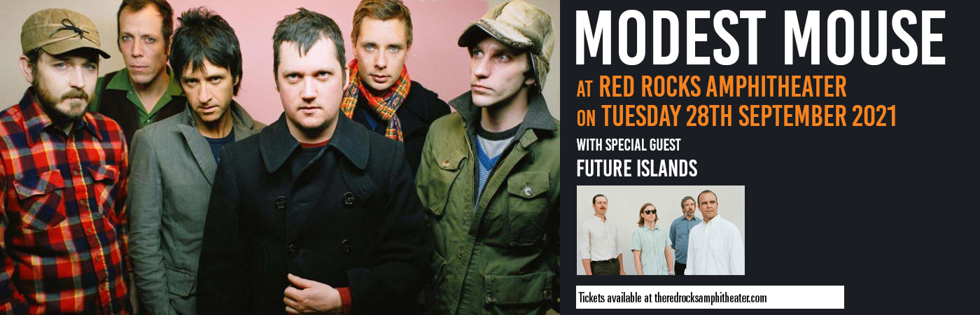 Modest Mouse & Future Islands at Red Rocks Amphitheater