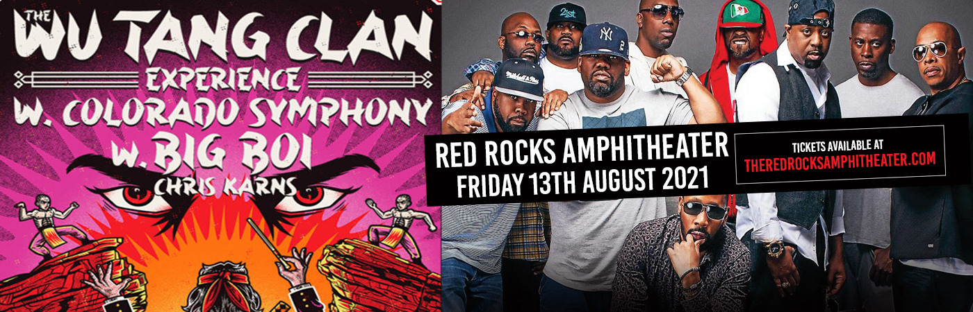 Wu-Tang Clan & The Colorado Symphony at Red Rocks Amphitheater