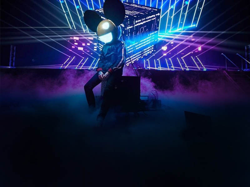 Deadmau5 - Unhooked at Red Rocks Amphitheater