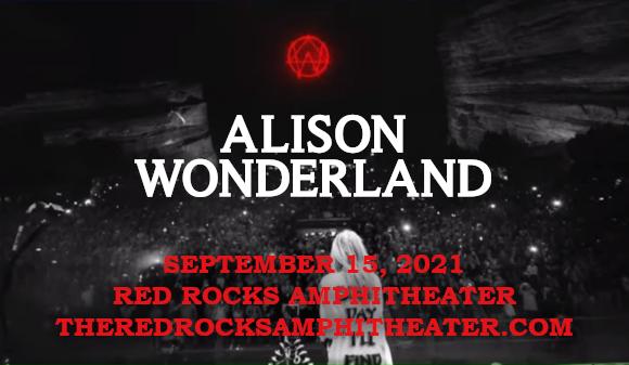 Alison Wonderland at Red Rocks Amphitheater