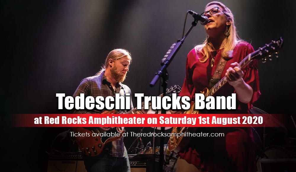 Tedeschi Trucks Band at Red Rocks Amphitheater
