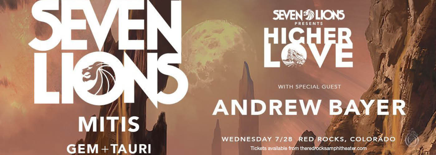 Seven Lions at Red Rocks Amphitheater