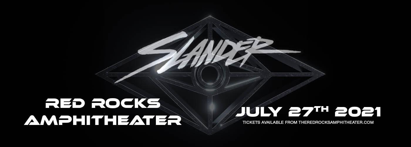 Slander at Red Rocks Amphitheater