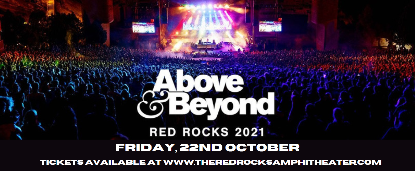 Above & Beyond at Red Rocks Amphitheater