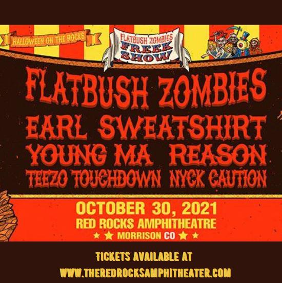 Flatbush Zombies at Red Rocks Amphitheater