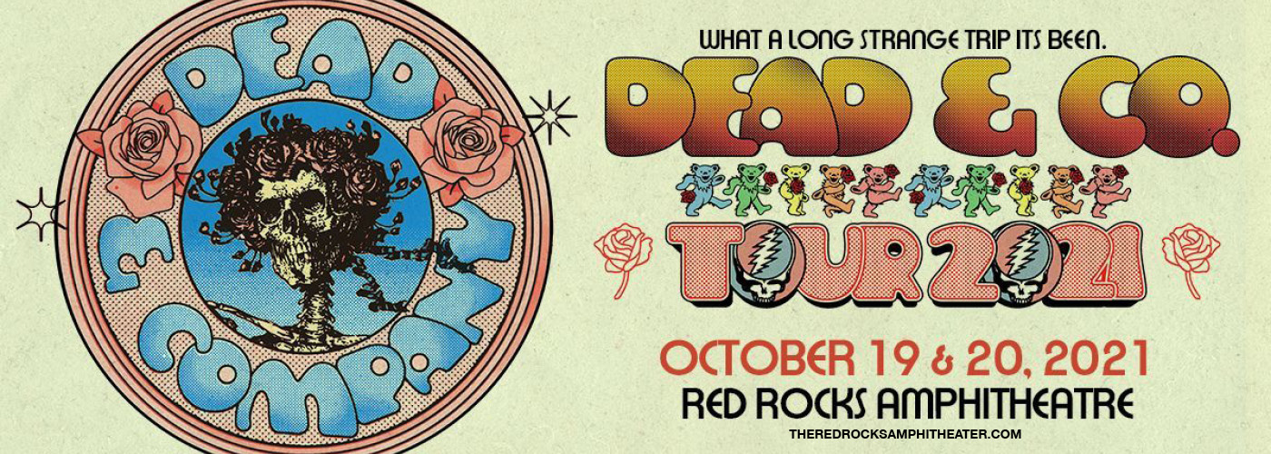Dead & Company at Red Rocks Amphitheater